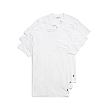 3-Pack Classic-Fit Cotton V-Neck Undershirt