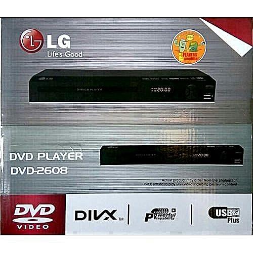 LG DVD Player DV 2608 USB Black