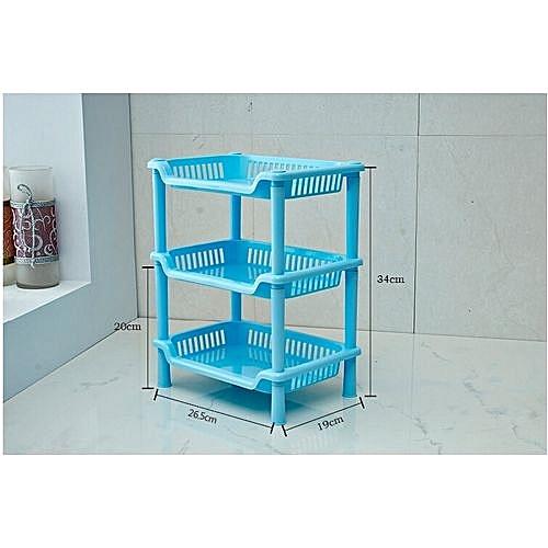 Shelf Rack Storage Organizer Three Layer