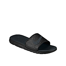 29d128fd1af2 Nike Benassi Solarsoft Slide 2 - Black Anthracite
