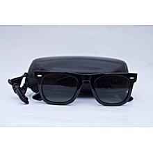 67fcf55a07e4 Unisex Polarized Wayfarer Sunglasses With Case