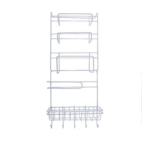 Refrigerator Rack Side Shelf Sidewall Holder Multifunctional Kitchen Organizer