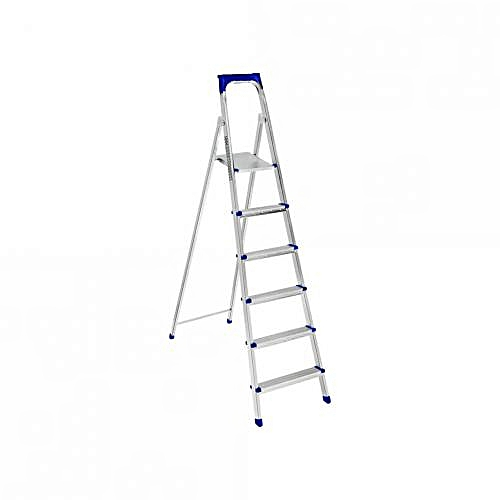 Comfortable Standing Platform Step Ladder - 6 Step