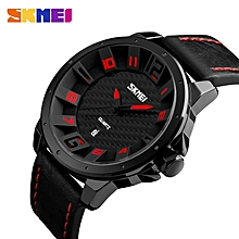 Used, SKMEI Men Fashion Quartz Wristwatches Leather Strap Complete Calendar Waterproof Clocks Sports Watches 9150 Relogio Masculino (with Box) for sale  Nigeria