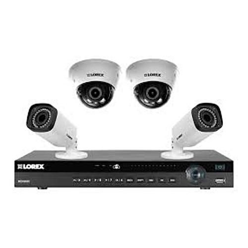CCTV 1080P AHD 2.0 CCTV Camera 2 Indoor + 2 Outdoor Camera + One 4Channel DVR