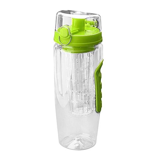 Portable Fruit Infuser Juice Shaker Eco-Friendly Travel Lemon Water Bottle