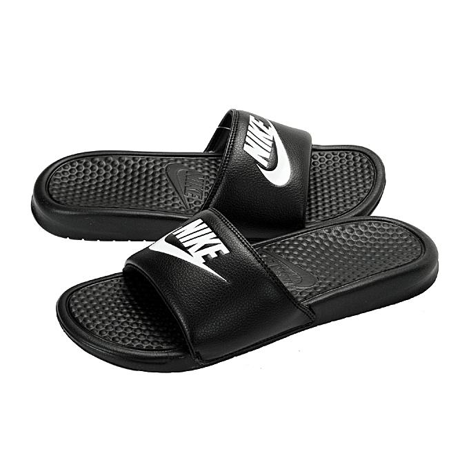 7ea37df46423 Nike Benassi Jdi Men s Slide - Black   White