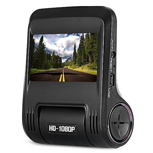 N9 170 Degree Wide Angle Full Glass Lens Car Driving Recorder_BLACK