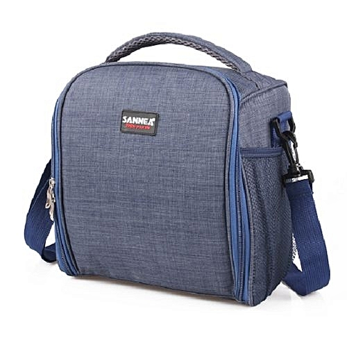 Insulated Lunch Bag Blue Jeans