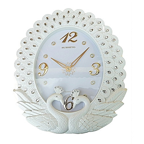 Wall Clock- Available In Black And White