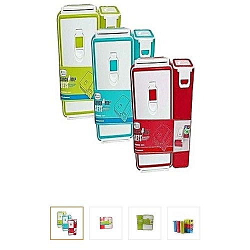 Children Back To School Lunch Box ( Food Flask And Water Bottle)