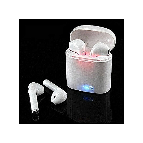 Earphones Wireless Headset White