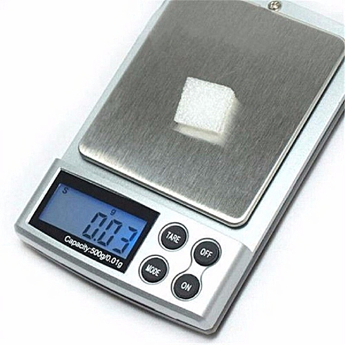 1pc 500g X 0.1g Digital Precision Scale Gold Silver Jewelry Weight Balance Scales LCD Display Units Pocket Electronic Scales