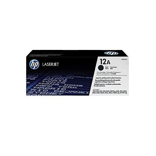 12A Black LaserJet Toner Cartridge (Q2612A)