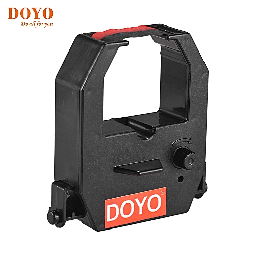 DOYO Time Clock Ribbon Cartridge Red Black Ink Colors For Office Electronic Time Clock Recorder Machine