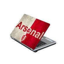 Laptop Protection Skin : Arsenal Design - Red