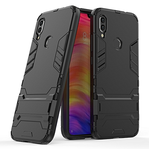 Redmi Note 7 Note7 Case Robot Kickstand Shockproof Cover