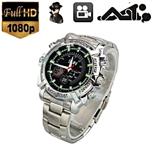 1080P 8GB Hidden Camera Wrist Watch  - Silver height=220