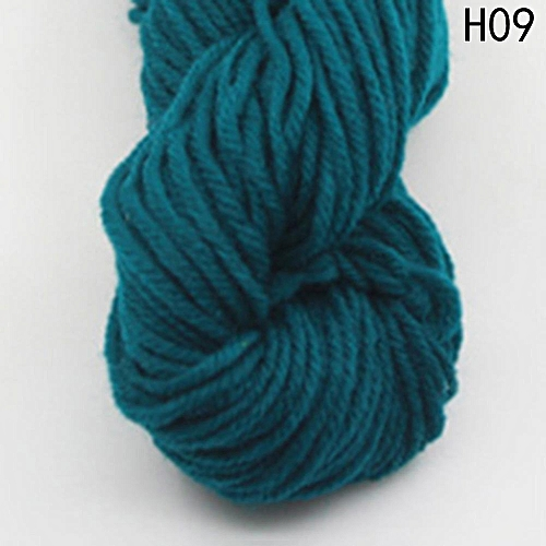 Eleganya High Quality Hook Shoes Dedicated Pure Color Knit Cotton Yarn H09
