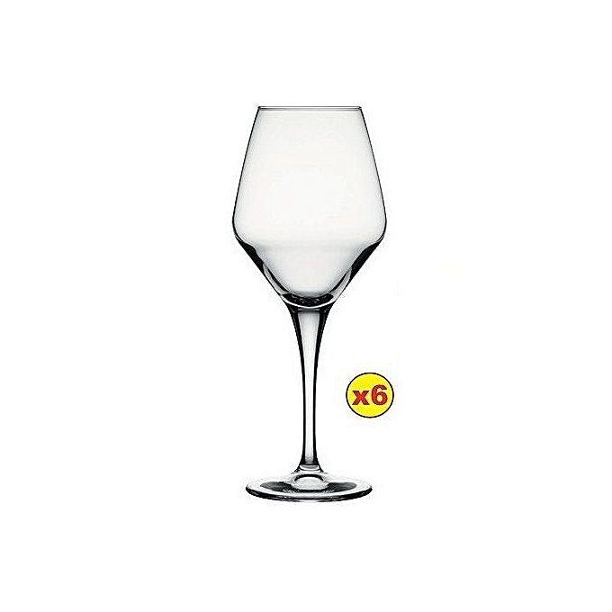 Pasabahce  6PCS WHITE WINE GLASS SET