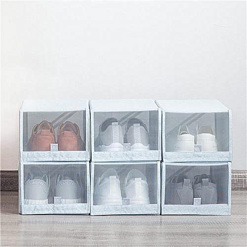 Xiaomi Mi Home 2PCS Shoe Storage Box Save Space Tidy Foldable Shoe Organiser Box