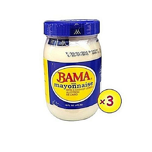 Bama Mayonnaise -473ml X 3