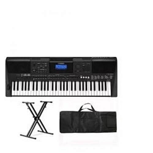 PSR E463 Yamaha Keyboard With Stand Bag And Adapter