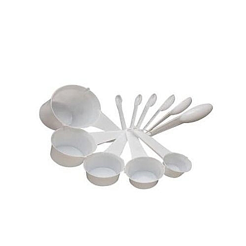 Measuring Cups/Spoons - White