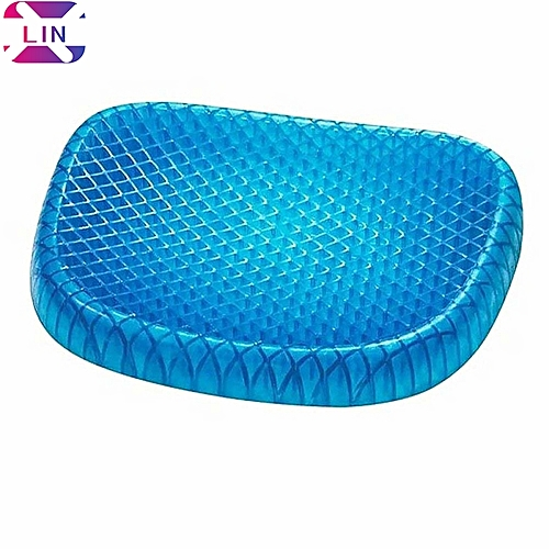 XLIN Egg Sitter Seat Cushion With Non-Slip Cover, Breathable Honeycomb Design Absorbs Pressure Points