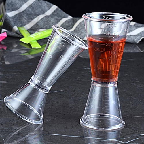 Transparent Plastic Bar Cocktail Shaker