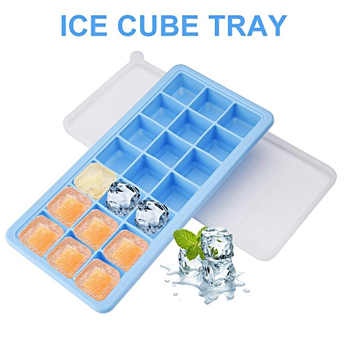 Silicone Ice Cube Maker 21 Cavities Chocolate Candy Tray Mold Kitchen Cooking Tools