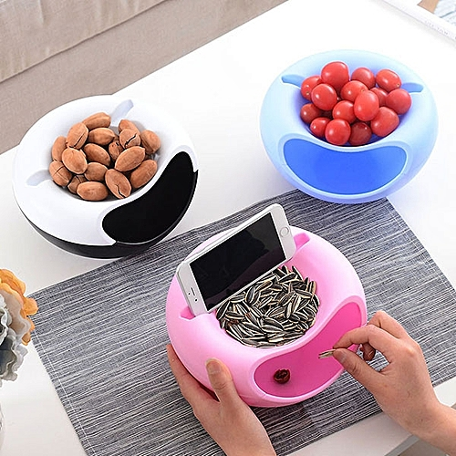 Honana HN-B20 Multifunction Storage Box Fruit Snacks Nut Holder Home Organizer Accessories