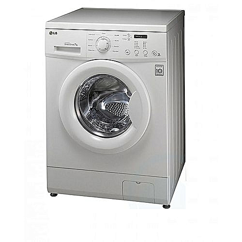 7kg Automatic Washing Machine Front Loader { White}