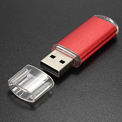 2GB USB 2.0 Metal Flash Memory Stick Storage Thumb U Disk RD