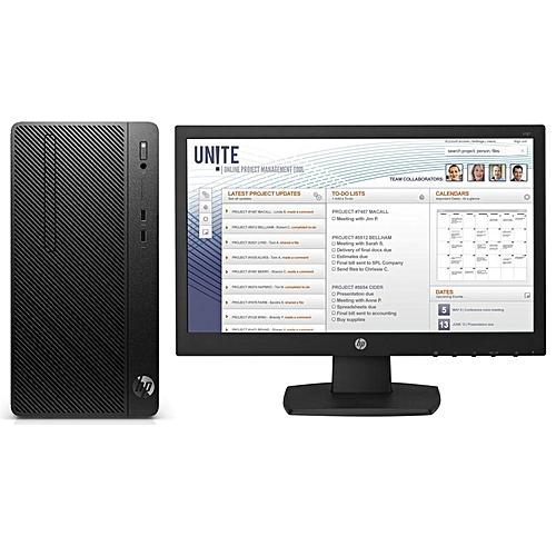 Desktop Pro A Microtower Business PC - AMD Ryzen™ 3 2200G Quad-Core (4gb, 500gb HDD)