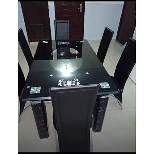 Dinning Table + 6 Chairs (Delivery Within Lagos Only)