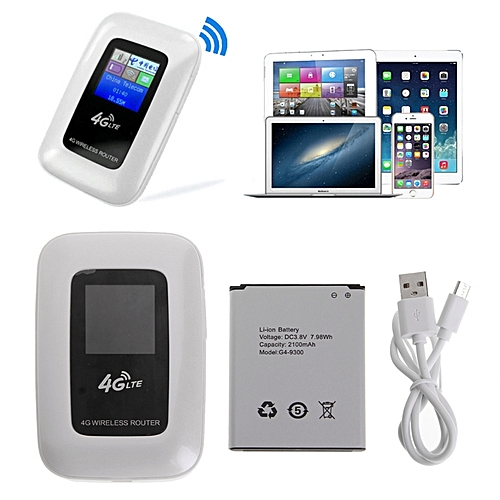 4G Mobile Wireless Mini Wi-Fi MiFi LTE Modem WiFi 4G Router With SIM Card Slot