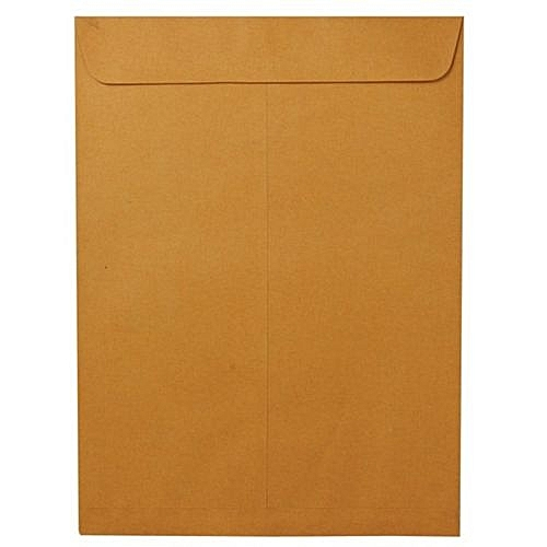"""25 X 2 Pieces A4 Brown Envelope With Seal - 12"""" X 10"""""""