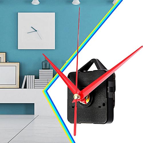 Silence Red Triangle Hands DIY Quartz Clock - Spindle Movement Mechanism Repair