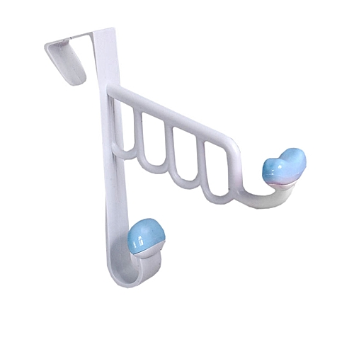 Over The Door Plastic Hook - Blue
