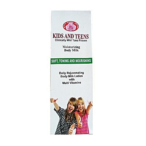 Kids & Teens Moisturizing Body Milk.