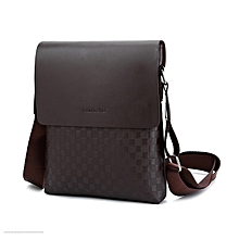 aedb4b0720c Men Business Messenger Bag Cross Body Male Fashion Casual Single Shoulder Bags  Briefcase Brown