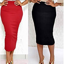 12ed543d4e Dazen Collections 2 Set Of Bodycon Midi Pencil Skirts