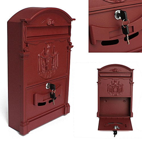 Letter Post Mailbox Combination Heavy Duty Mailboxes Large Box Postbox Lockable