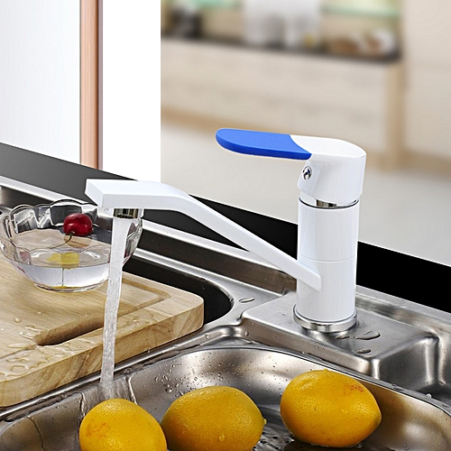 FRAP F4534 Kitchen Faucet Cold And Hot Water Mixer 360 Rotating Multi Color Options Fist Cover