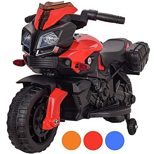 4760ebed708 Generic Kids Motorbike Electric Ride On Toy Childs Bike Motorcycle 6v - Red