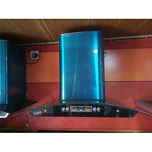 Cooker Hood Smoke Extractor For 6 Burner Gas Glass Top