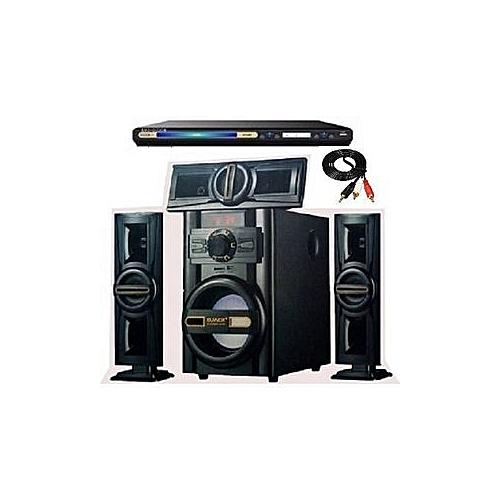 Heavy Duty Dj1503l Djack Bluetooth Home Theater System Powerful DVD Player