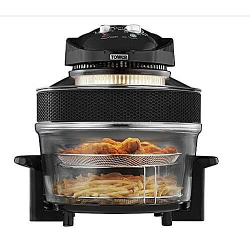 Tower Healthfry 17 Litre Low Fat Airfryer 5L Extender Ring.