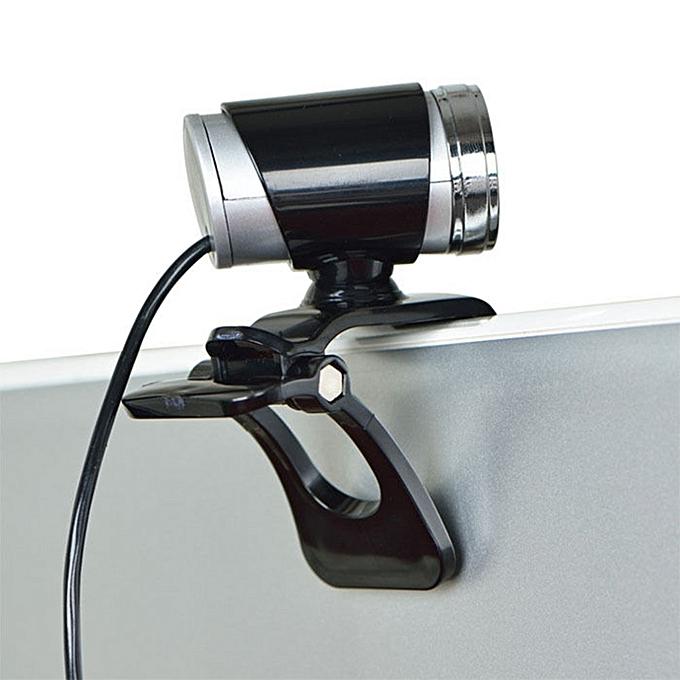 generic usb 50mp hd webcam web cam camera with mic for computer pc laptop desktop black jumia. Black Bedroom Furniture Sets. Home Design Ideas